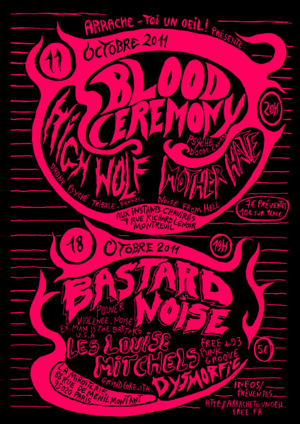 Blood Ceremony @ Montreuil
